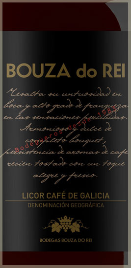 Licor café Bouza do Rei