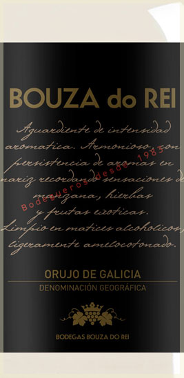 Bouza do Rei Galician eau-de-vie